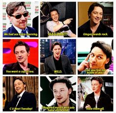 James said all of these to Michael #McBender #Mcfassy #Fassavoy