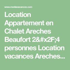 Location Appartement en Chalet Areches Beaufort 2/4 personnes Location vacances Areches Beaufort Alpes françaises Savoie Rhône-Alpes France - id 74478