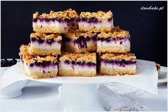 Ciasto styropian z jagodami na kruchym cieście z masą jogurtową przypominająca sernik. Pyszne, proste i niezwykle smaczne ciasto w wydaniu letnim z owocami sezonowymi. Cheesecakes, Vanilla Cake, Tiramisu, Baking, Ethnic Recipes, Sweet, Food, Diet, Candy
