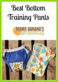 Best Bottoms reusable training pants are made in the USA and can use best bottoms cloth diaper inserts in their shell and transition to the feelWET inserts used for potty training. The shell has two snaps to hold inserts in and overall is a great system!