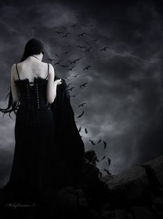 The Crow by MskyCarmen.deviantart.com on @DeviantArt