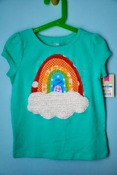 Little Bit Funky: 20 minute crafter. sweet rainbow. :)