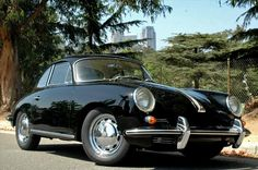1964 Porsche 356 C, take off the bumper guards and this is my car.