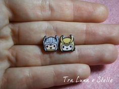These adorable Thor and Loki earrings. | Community Post: 25 Geeky Gifts Every Marvel Fan Needs