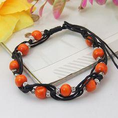 Fashion Wax Cord Bracelets from Pandahall.com