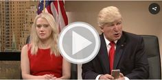 In this week's cold open on Saturday Night Live, Alec Baldwin mocked Trump's Twitter obsession the way only he knows how. In the skit, Baldwin knocks Trump for retweeting a 16-year-old (this really happened) while the adults in the room attempt to get him to focus on security briefings. Later in the clip, Baldwin's Trump …