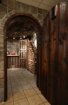 Wine cellar in the basement? Yes, please!