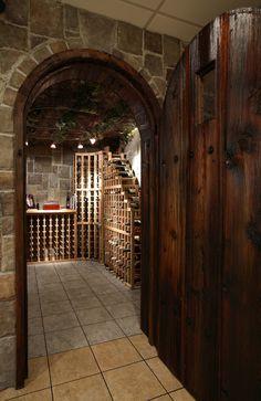 Wine cellar in the basement? Yes, please! Basement wine cellar ideas