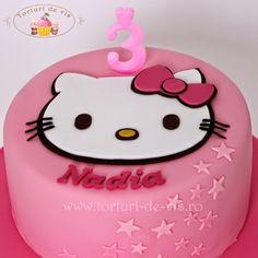 Tort Hello Kitty pentru Nadia