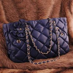 The retro blue womens leather #clutch evening bag
