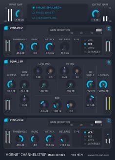 ChannelStrip MK2 By HoRNet Plugins