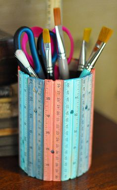 sweet ruler pencil can