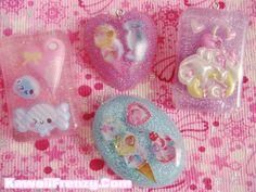 Kawaii resin jewelery DIY