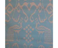 China Seas Quadrille Bali II Fabric Remnant Turquoise / White Shop Maddie G   Maddie G Designs