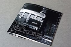 So cool. Needtobreathe The Reckoning Lyric book, all proceeds donated to PMI. I want one!