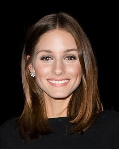 Olivia Palermo showing how simple and sophisticated a long blunt bob can be.