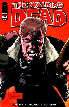 Capa da Edição #75 de The Walking Dead
