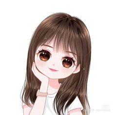 Funny Cartoon Photos, Cartoon Girl Images, Cute Cartoon Girl, Anime Girl Cute, Cute Girl Face, Cute Love Wallpapers, Cute Girl Wallpaper, Cute Disney Wallpaper, Cute Cartoon Wallpapers