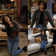 10 Uni Outfits Inspired By Monica Geller Uni Outfits, 90s Outfit, Friend Outfits, Estilo Rachel Green, Rachel Green Outfits, Friends Season, Friends Tv Show, Friends Cast, Friends Mode