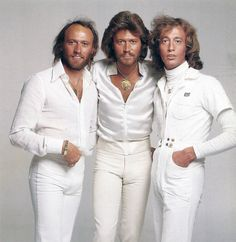 The Bee Gees...and their skin tight pants. Oh yes disco was the best. I was only 12 years old, but loved to dance with my cousin to their music!