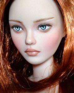 Ooak Carole Stimac Ashton Drake Simply Gene Marshall RED Doll Repaint Irina   eBay