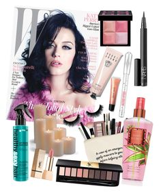 """""""Catyyyy"""" by s-skolastika ❤ liked on Polyvore featuring beauty, Givenchy, NARS Cosmetics, Benefit, Yves Saint Laurent, Bobbi Brown Cosmetics, Frontgate, makeup, katyperry and skincare"""