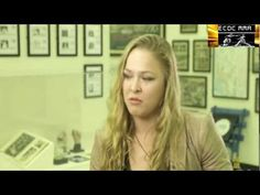 Ronda Rousey talks about fighting men in a movie theater! #ArmbarNation RondaRousey.net