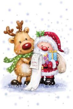 Christmas Scenes, Christmas Pictures, Christmas Art, Winter Christmas, Vintage Christmas, Christmas Decorations, Christmas Stuff, Xmas, Holiday
