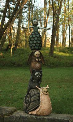 "Scott Radke - ""Nathalie rheims Totem"" - 2012I have no idea who this artist is but I LOVE it"