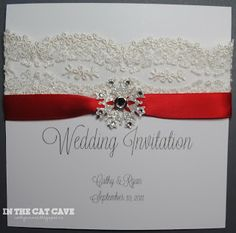 In The Cat Cave: Christmas invite samples