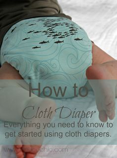 How to Cloth Diaper #clothdiapers @theecochic