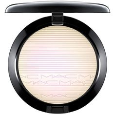MAC Extra Dimension Skinfinish Highlighter - 9 g / 0.31 oz. ($33) ❤ liked on Polyvore featuring beauty products, makeup, face makeup, beauty, apparel & accessories, highlight makeup, mac cosmetics and mac cosmetics makeup