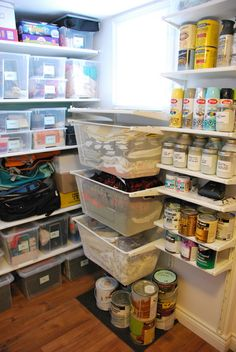 Ikea Algot storage system... for the laundry, pantry, basement... this looks like a lot of storage in a small space