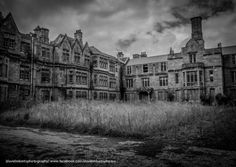 Just a small portion of the facade of the vast former Denbigh Mental Hospital