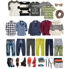 awesome Little Boys Capsule Wardrobe
