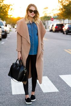 Outfits casuales que te harán ver hermosa durante tu embarazo ff64a093bc90