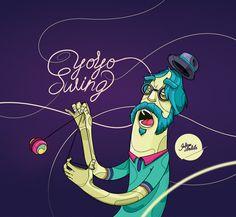 Yo-yo swing by Julian Ardila, via Behance