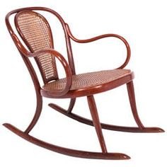 Turn of the Century Thonet Bend Wood Rocker No. 8