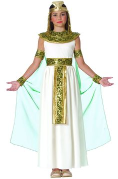 White dress, collar and belt. We could use a variety of colors for collar and belt...And a differenty, more flowing dress