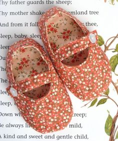 10 Cutest Baby Shoe Patterns Ever | Sewing Secrets - A Blog by Coats & Clark { I want to size down for doll shoes}