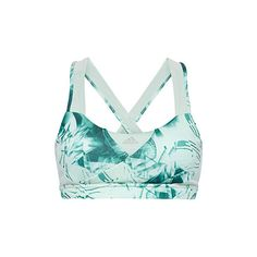 Adidas Geo crystals Supernova bra ($42) ❤ liked on Polyvore featuring activewear, sports bras, padded bra top, adidas activewear, adidas sports bra, adidas sportswear and bra top