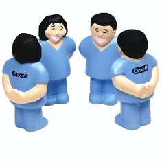 Healthcare Worker Stress Ball - available in male or female. Prices start at $3.08 each!