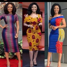 How to Look Classic Like Serwaa Amihere for Plus Size & Curvy Ladies 2019 – Outfits Vitenge Dresses, African Wear Dresses, Latest African Fashion Dresses, African Print Fashion, African Prints, Ankara Long Gown Styles, Ankara Styles, African Blouses, African Clothing For Men