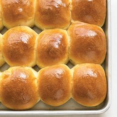 These warm, buttery rolls only take a little hands-on prep (the yeast does all the work), kids love to help shape them, and they fill the house with a delicious aroma. Even better, the same dough can be used for Cinnamon-Nut Buns.
