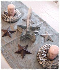 Bougeoir en étoile
