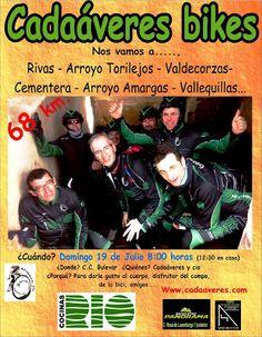 """Mtb Cadaáveres - Bike : Ruta Mtb """"Los Cangrejos del Balneario de Las Amarg..."""