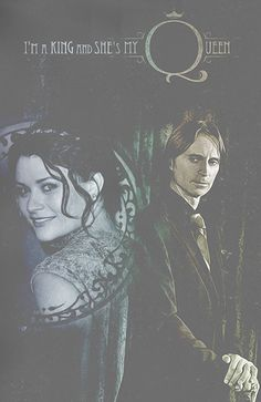 'I'm a king and she's my queen' - RumBelle fan art