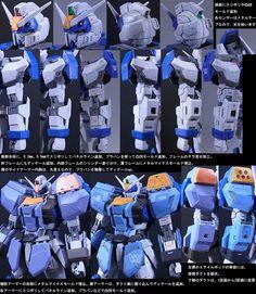 GUNDAM GUY: MG 1/100 GAT-X102 Duel Gundam Assaultshroud - Customized Build