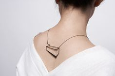 the Mechanics of Black, a line of sculptural, modern jewelry by Eleftheria Stamati