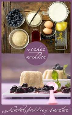 Für alle Fans von Milchreis und Grießpudding. http://eatsmarter.de/rezepte/griesspudding-smarter